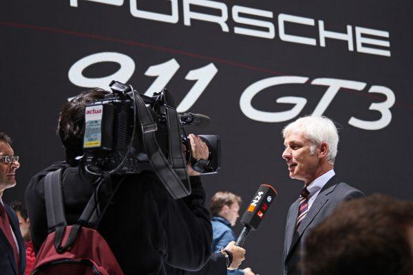 Porsche Genfer Autosalon Impressionen