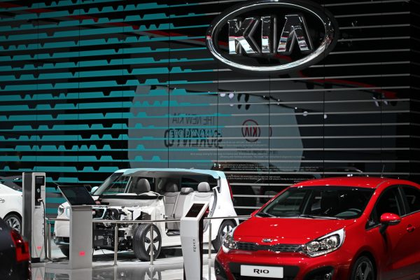 KIA Autosalon Paris