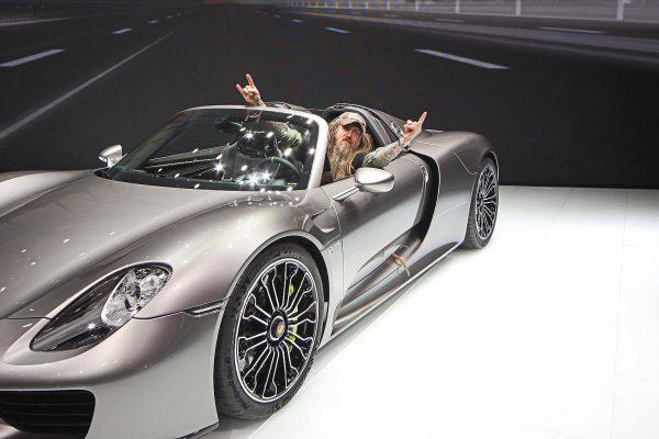 Porsche IAA Impressionen